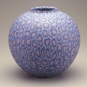 Freer Sackler collection Japanese vase with floral patern, Accession No. S1993.32